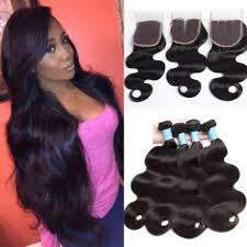 vip hair extensions 9a vip beauty peruvian wave 3 bundles with lace closures