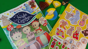 night garden official magazine issue 9 unboxing free