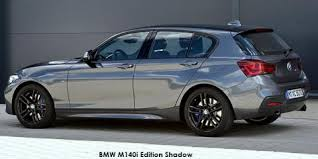 bmw 1 series deals bmw 1 series m140i 5 door edition shadow sports auto up to r