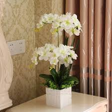Artificial Orchids Compare Prices On Artificial Orchid Flower Silk Online Shopping