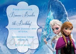 invitation ideas frozen chatterzoom