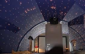 chambre ciel étoilé embellir éclairage avec un plafond étoilé batirenover