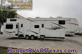 2 Bedroom Travel Trailer Floor Plans Mind Blowing 2 Bedroom 5th Wheel Bunk House 2009 Big Country