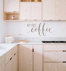 but first coffee kitchen vinyl wall decal vinyl thingz but first coffee kitchen wall decal