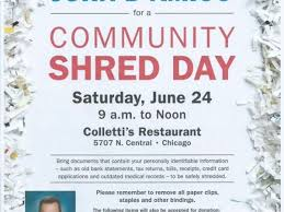 where to shred papers for free jun 24 free paper shredding day park ridge il patch