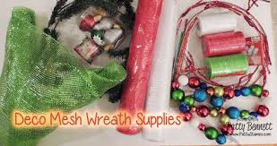 deco mesh supplies patty s deco mesh christmas wreath patty s sting spot