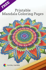 free printable mandala coloring pages download print and share