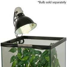 Zoo Med Light Fixture by Fluker U0027s Clamp Lamp With Dimmer For Reptiles Petsolutions
