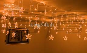 Window Ornaments With Lights 192 Led Lights 8m 0 75m Drop Ceiling Ornament Lights Shop Window