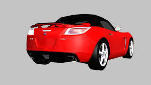 saturn sky coupe 3d model saturn sky red line 2007 cgtrader
