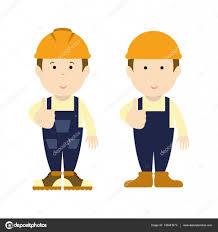 road builder man funny cartoon handyman handyman wearing work
