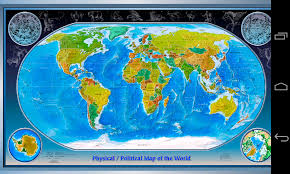 World Map To Scale by World Map App Android Apps On Google Play