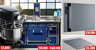 cuisine molteni the 250 000 kitchen a 160 000 stove a blast chiller with an ipod