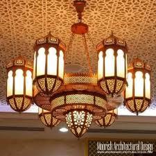Traditional Chandelier Large Moorish Chandelier Moroccan Style Light Fixtures