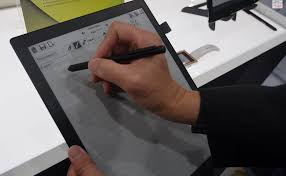 e paper writing tablet netronix debutes 13 3 inch e reader at ces