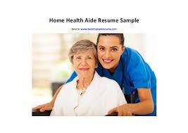 Sample Resume Home Health Aide by Homehealthaideresumesample 160323091117 Thumbnail 4 Jpg Cb U003d1458724375