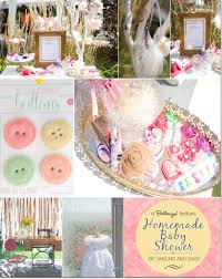 a vintage inspired baby shower with a sewing theme by darling and