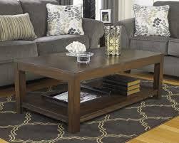ashley furniture black coffee table material glass size medium 40
