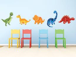 amazon com sunny decals dinosaur fabric wall decals set of 5