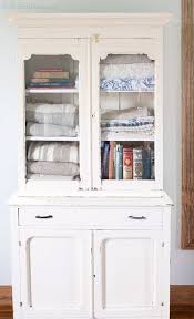 Top  Best Linen Storage Ideas On Pinterest Organize A Linen - Antique white bathroom linen cabinets