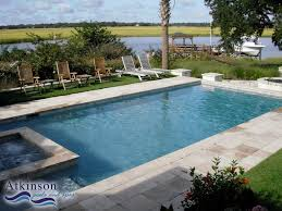Pictures Of Inground Pools by Rectangular Pools With Tubs Go Back U003e Images For U003e Rectangle