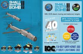 Small 2 by Small Diameter Bomb Increment Ii Sdb Ii Navair U S Navy