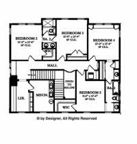 floor plans aflfpw07911 2 story home with 4 bedrooms