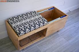 Diy Storage Bench Plans by Storage Bench Rogue Engineer