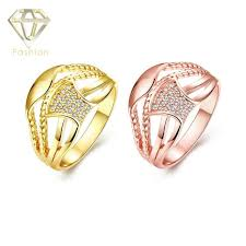 rings online gold images Online gold jewellery shopping cool geometric design inlaid cubic jpg