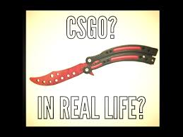 unboxing a cs go butterfly knife slaughter trainer