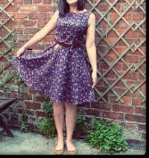 pattern review new look 6184 another dress using new look pattern 6184 view e fabric is a