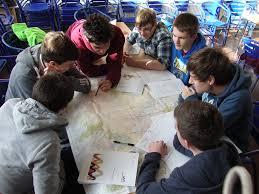 Map Reading Practice D Of E Expedition Training Reigate College