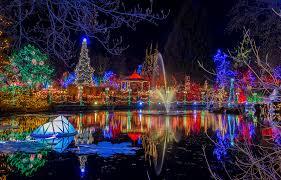 vancouver christmas light maze christmas lights vandusen enjoy canada