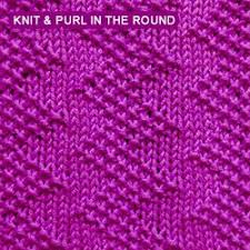 zig zag knitting stitch pattern over 100 knitting stitch patterns that can be made using only knit