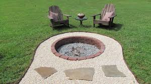 in ground outdoor fire pit designs