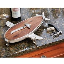 airplane cutting board from sporty u0027s pilot shop