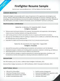 firefighter resume templates firefighter resume template customize this resume now free