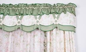 cream botanical embroidery burlap window curtains on sale
