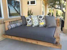 furnitures fascinating porch swing cushions for alluring outdoor