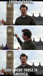 London Meme - tourists go crazy over little things