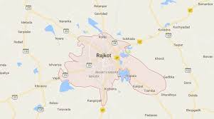 map of rajkot rajkot killed as car hits city the indian express