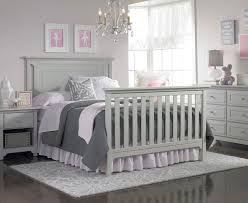 Grey Convertible Cribs Ti Amo Carino Convertible Crib In Grey Furniture In