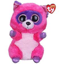 ty beanie boo buddy roxie raccoon soft toy entertainer