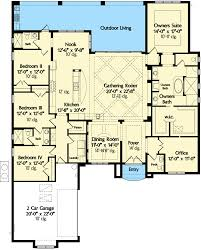 floor plans for 4 bedroom house classic 4 bed mediterranean house plan 42835mj architectural