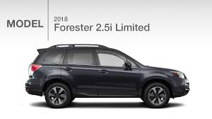 white subaru forester 2018 subaru forester 2 5i limited model review youtube