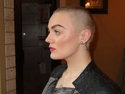 very beautiful headshave girls all sizes brendi s great headshave 4 76 p flickr photo