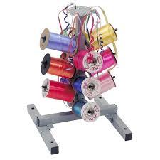 ribbon dispenser bulman m712 12 spool ribbon dispenser for curling ribbon