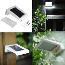 Solar Powered Motion Sensor Outdoor Light by Solar Power Powered 20 Led Energy Saving Waterproof Garden Outdoor