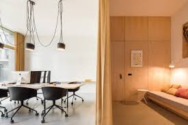 pure u0027s office space designed to have a cozy home feeling