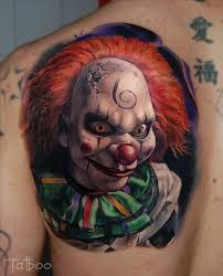 26 best evil clown tattoo images on pinterest evil clowns evil